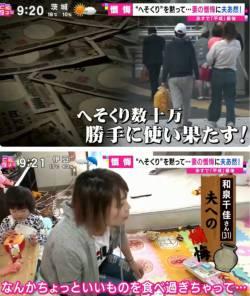 テレビ「せや!旦那がディズニーに行くために貯めてたヘソクリ数十万円を奥さんが勝手に使い果たしたのを謝る企画やったろ!」
