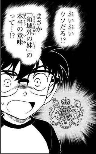 【速報】コナン、ついに「領域外の妹」の正体が判明!