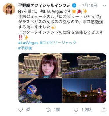 【画像】声優の平野綾さん、憔悴しきった陰に泣き疲れ困惑