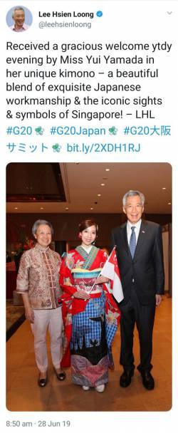 ツイ民「例のKimono騒動、どうせならG20で各国の要人に本物の着物をアピールすればいいのに」 →結果
