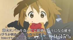 【悲報】遅刻しそうなパンをくわえた美少女と曲がり角でぶつかる確率、限りなく低い。