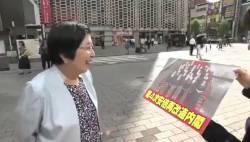 街角インタビューが小泉進次郎氏一色に染まる中、このご婦人の意見に拍手