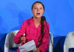 【懲りない】報道ステーションが、極左環境運動家少女グレタ・トゥーンベリーを取り上げてた。