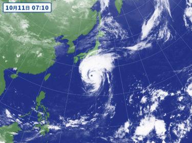 【朗報】台風19号、ハゲる