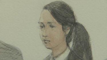 【画像】法廷画家が沢尻エリカを描いた結果wwwwwwwwwwwwwwwwwwwwwww