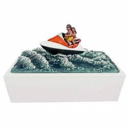 【pickup】【悲報】水上バイク急加速 →女性を海上に落とす →ジェット噴流が肛門直撃 →結果。